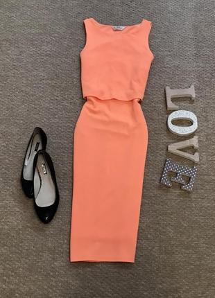 Яркое платье miss selfridge