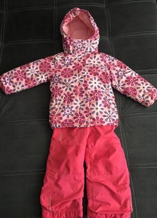 Зимний детский комбинезон 2-4 года icepeak на девочку оригинал
