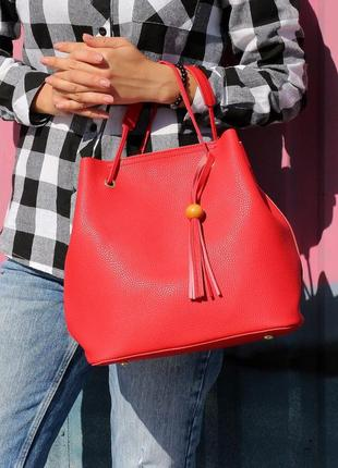 Стильный комплект из 2 сумок-низкая цена