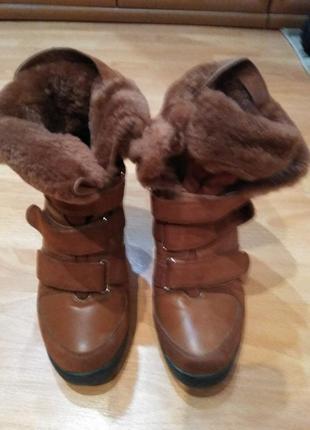 Зимние ботиночки-сникерсы