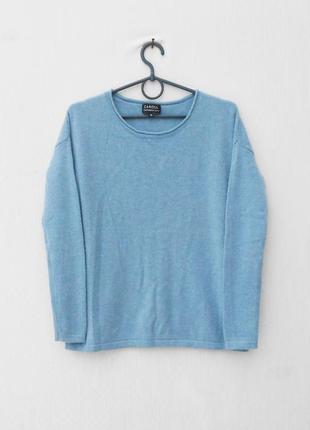 Осенний зимний 100%  кашемировый свитер свитшот с длинным рукавом