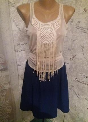 Комплект: блуза и юбка тюльпан 42р