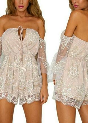 Комбез платье