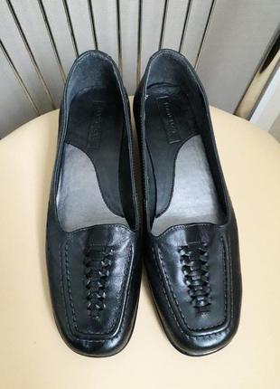 38 р. footglove кожаные удобные туфли