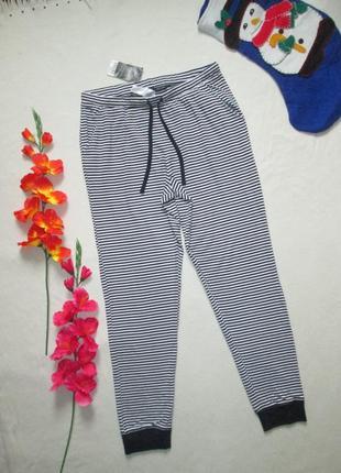 Домашние пижамные брюки в полоску с манжетами 100% коттон next