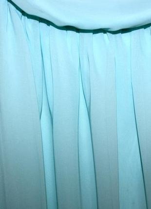 Платья - большой выбор (300ед ) - шифоновое мятное платье s-m4