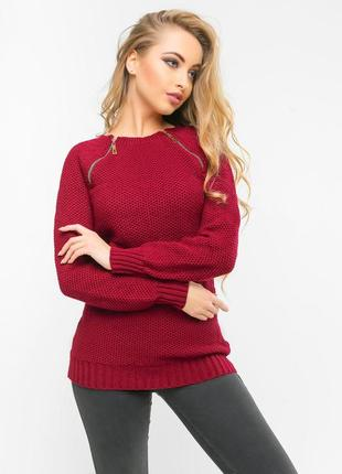 Классный вязаный свитер