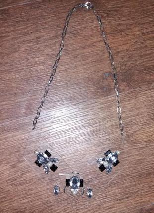 Ожерелье в камнях