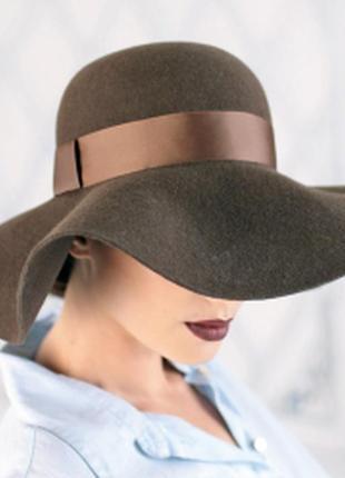 100% шерсть шляпа, осень -зима , италия