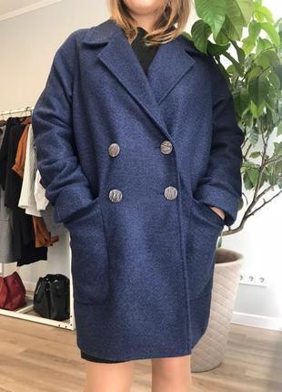 Синие пальто со скидкой