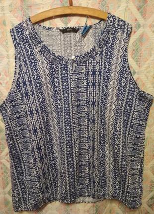 Летняя блуза большой размер 24