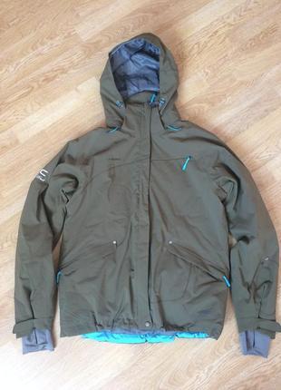 Лыжная куртка mammut размер l в состоянии новой