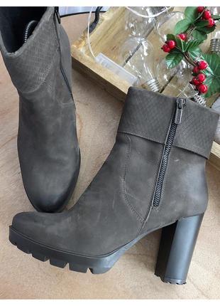 Кожаные ботинки lasocki рр 40-41