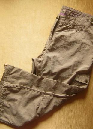 Легкие и прочные шорты-капри для города и вылазок на природу от tchibo - р. 46 укр.