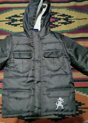 Демисезонная курточка на синтепоне lupilu польша.