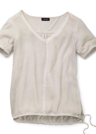 Нежнейшая, винтажная блузка вискоза! tcmtchibo, германия!раз.евро 36/38; наш 42/44