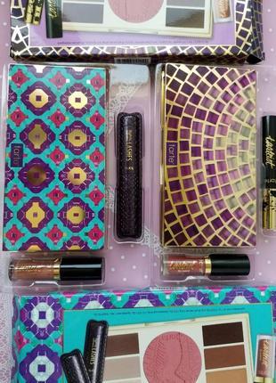 Tarte набор косметики miracles amazon set палетка теней, румяна, тушь 2 оттенка