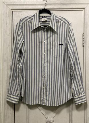 Рубашка мужская d&g оригинал р. xl