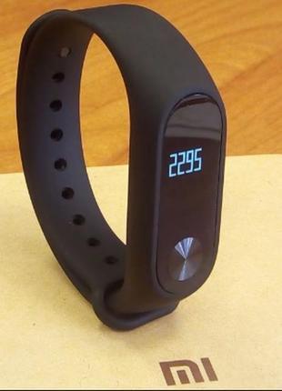 Ремешок фитнес-браслет xiaomi mi band 2 черный