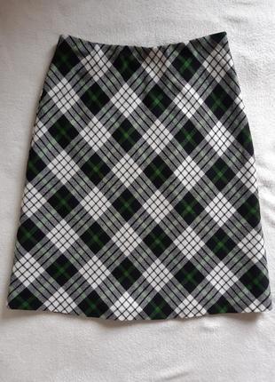 Трендовая теплая юбка