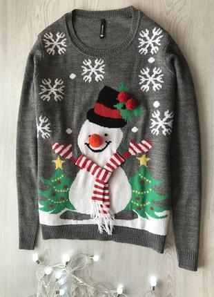 Новогодний свитер р. л