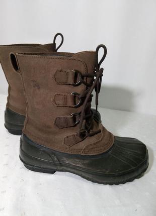Зимние кожаные термо сапоги,ботинки seeland, 40р,стелька25,5см ,хорошее состояние
