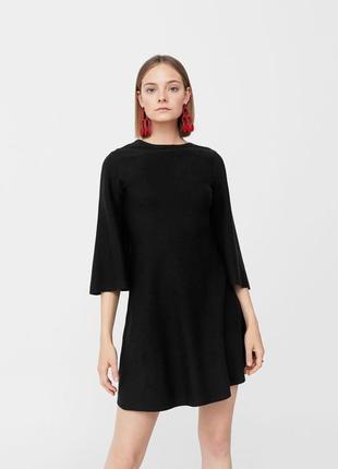Только до 20.12! черное короткое платье (бесплатная доставка)