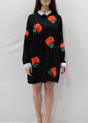 Платье с вышивкой missguided