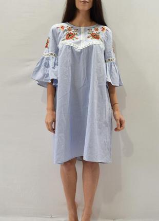 Платье с вышивкой primark