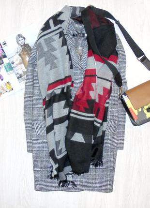 Шарф длинный шарф деяло шерстяной шарф палантин