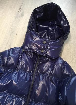 Курточка пуховик на силиконе4 фото