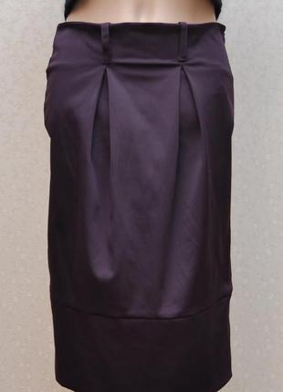 Красивая стильная нарядная юбка кокон, балон, с манжетом внизу...италия, сост. новой вещи!