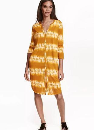 Легкое летнее платье - рубашка, туника h&m