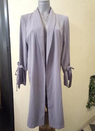 Кардиган,длинный жакет,плащ,легкое пальто 48-50 р