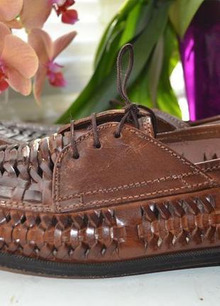 Летние статусные туфли, босоножки st lawrence bay натуральная кожа 43