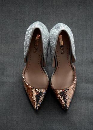 Туфли в пайетки miss kg
