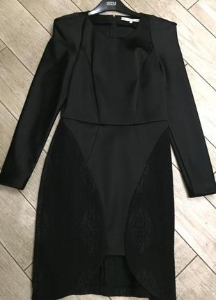 Вечернее шикарное платье( новое),м-размер