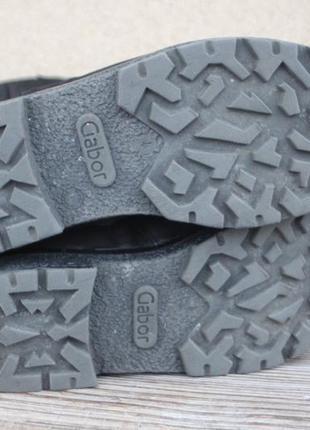 Зимние ботинки gabor нубук (кожа) германия 37р сапоги женские4 фото