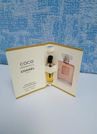 Chanel coco mademoiselle духи, пробник миниатюра 5 мл, парфюм