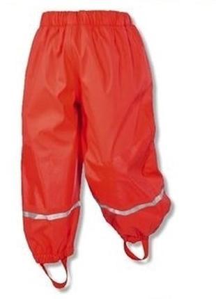 Lupilu дождевые штаны на флисе 4-6 лет 110-116 см германия.