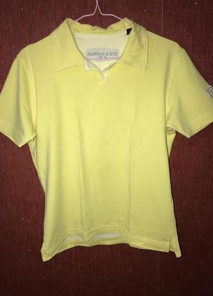Отличное качество, желтая футболка