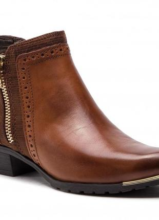 Демисезонные практичные ботинки caprice