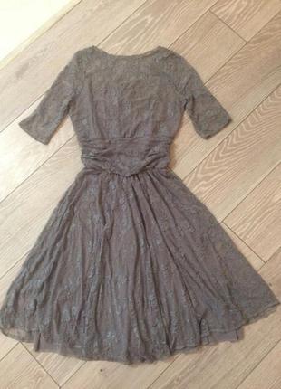 Платье из гипюра/нарядное платье/гипюр/размер 48-52