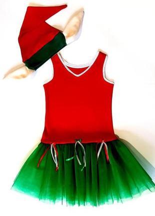 Новогодний костюм для девочки рр.92-128