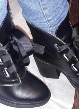 Ботинки на шнуровке3