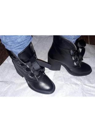 Ботинки на шнуровке5