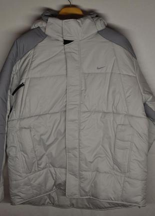 Мужская зимняя куртка nike (утеплитель - синтепон)