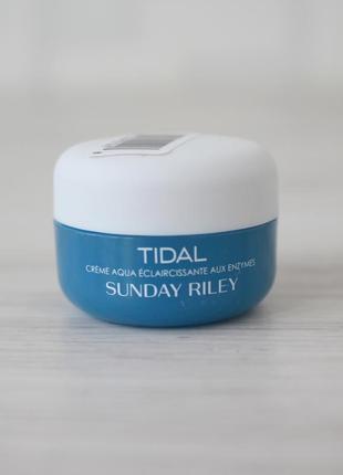 Увлажняющий крем sunday riley tidal brightening enzyme water cream.