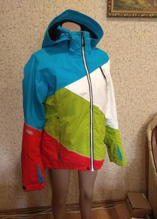 Шикарная лыжная куртка mckinley 48 размер австрия
