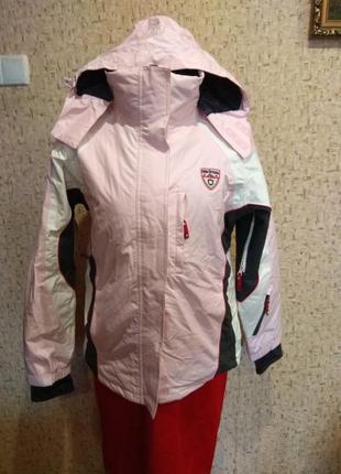 Шикарная лыжная термо куртка 48 размер германия